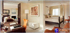 Отель The Dorchester, Лондон. Спальня Audley suite